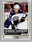 2018-19 O-Pee-Chee #597 Patrik Laine NM-MT SP Winnipeg Jets  Official NHL Hockey Card