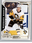 2018-19 O-Pee-Chee (OPC) Update #646 Juuso Riikola RC Marquee Rookie Card Pittsburgh Penguins