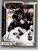 2018-19 O-Pee-Chee Silver Border Hockey #508 Daniel Brickley Los Angeles Kings  RC Rookie Official NHL 18-19 OPC Hockey Card made by Upper Deck Compan