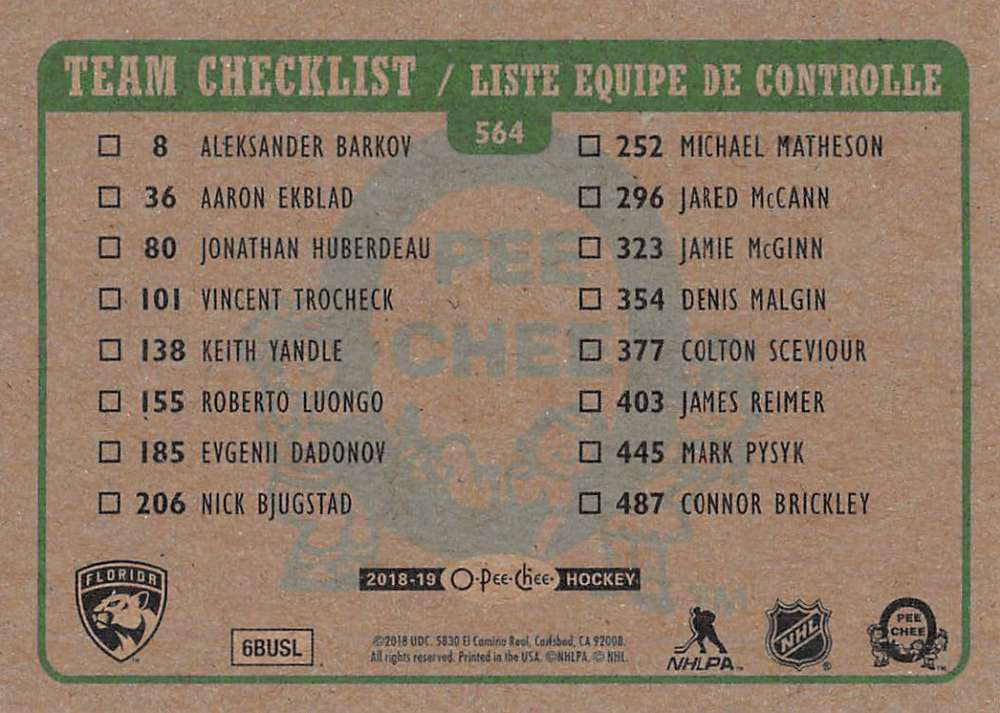 2018-19-O-Pee-Chee-OPC-Hockey-Retro-Parallel-Singles-Pick-Your-Cards thumbnail 189
