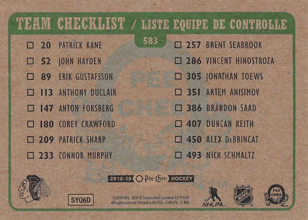 2018-19-O-Pee-Chee-OPC-Hockey-Retro-Parallel-Singles-Pick-Your-Cards thumbnail 203