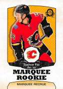 2018-19 O-Pee-Chee Retro #548 Spencer Foo Calgary Flames RC Rookie 18-19 Official OPC Hockey Card (made by Upper Deck)