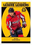 2018-19 O-Pee-Chee Retro #592 Alexander Ovechkin Washington Capitals  League Leaders 18-19 Official OPC Hockey Card (made by Upper Deck)
