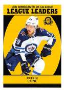 2018-19 O-Pee-Chee Retro #597 Patrik Laine Winnipeg Jets League Leaders 18-19 Official OPC Hockey Card (made by Upper Deck)