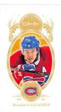 2018-19 O-Pee-Chee Mini #M-59 Brendan Gallagher SP Short Print Montreal Canadiens