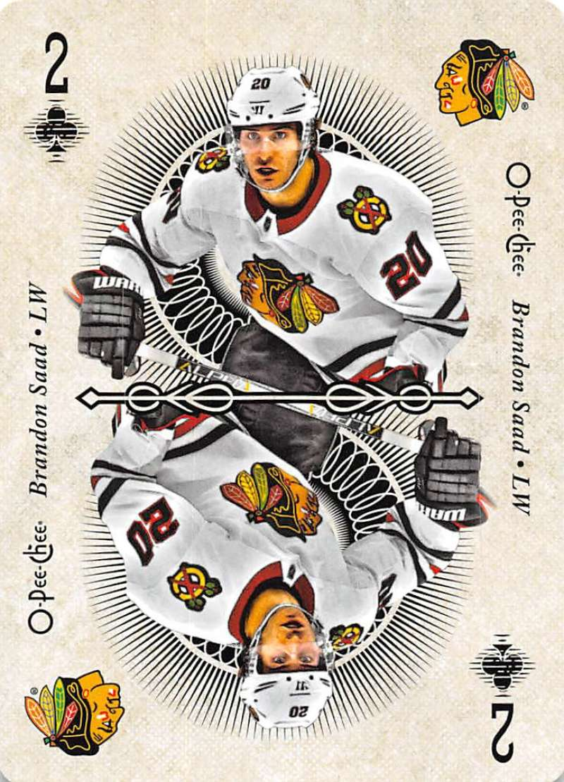 2018-19 O-Pee-Chee  Playing Cards
