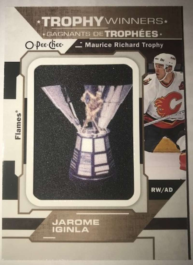 2018-19 O-Pee-Chee  Manufactured Trophy Winners Patches