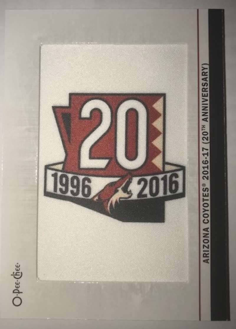 2018-19 O-Pee-Chee  Manufactured Team Logo Update Patches