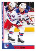 2018-19 Panini NHL Stickers Collection #163 Neal Pionk RC Rookie Card New York Rangers  Official Hockey Sticker (smaller than a regular card)