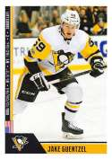 2018-19 Panini NHL Stickers Collection #214 Jake Guentzel Pittsburgh Penguins  Official Hockey Sticker (smaller than a regular card)