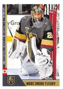 2018-19 Panini NHL Stickers Collection #479 Marc-Andre Fleury Vegas Golden Knights  Official Hockey Sticker (smaller than a regular card)