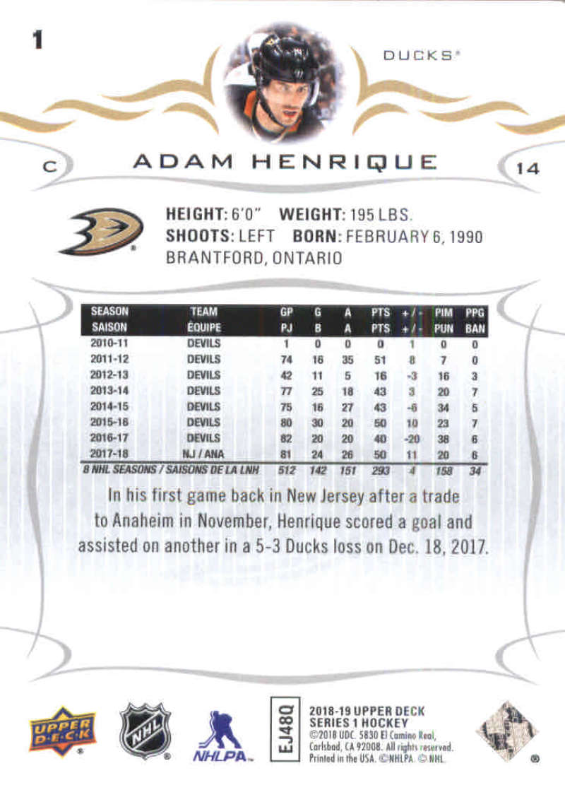 2018-19-Upper-Deck-Hockey-Base-w-Young-Guns-RC-1-250-Pick-Your-Cards-Lot thumbnail 3