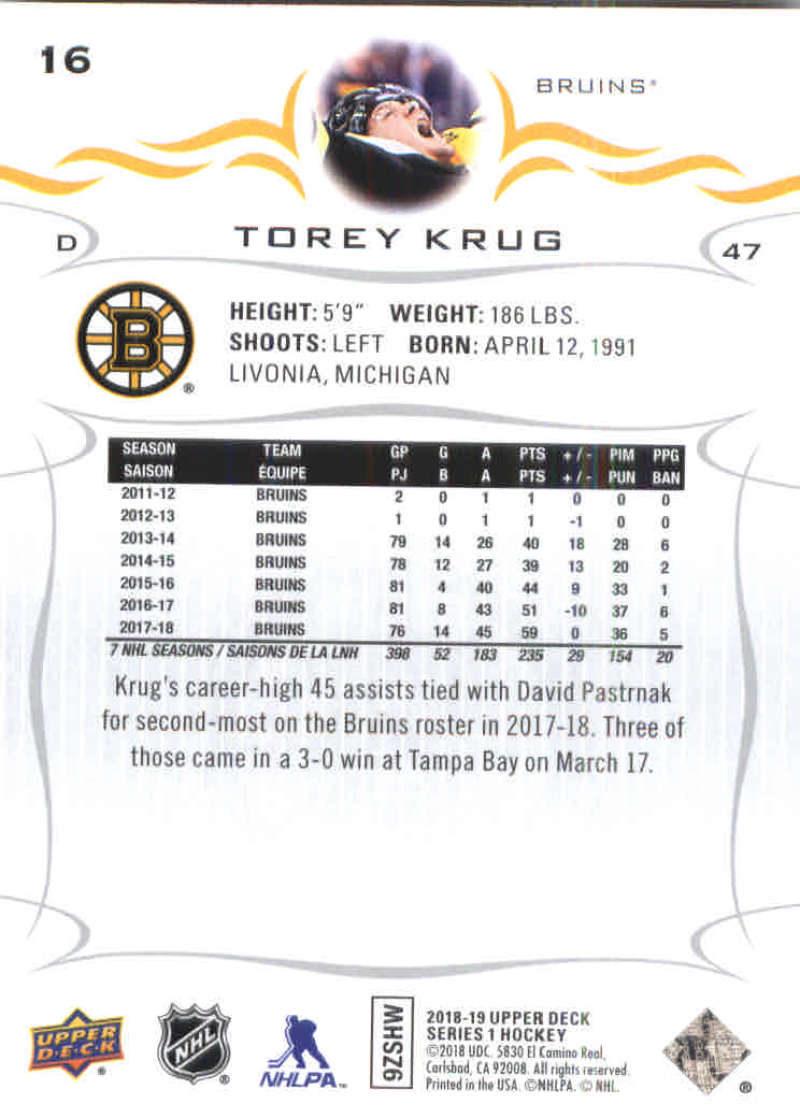 2018-19-Upper-Deck-Hockey-Base-w-Young-Guns-RC-1-250-Pick-Your-Cards-Lot thumbnail 33