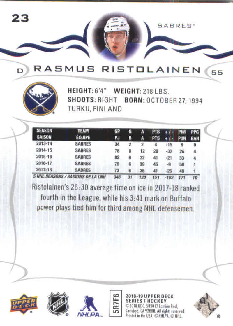 2018-19-Upper-Deck-Hockey-Base-w-Young-Guns-RC-1-250-Pick-Your-Cards-Lot thumbnail 47