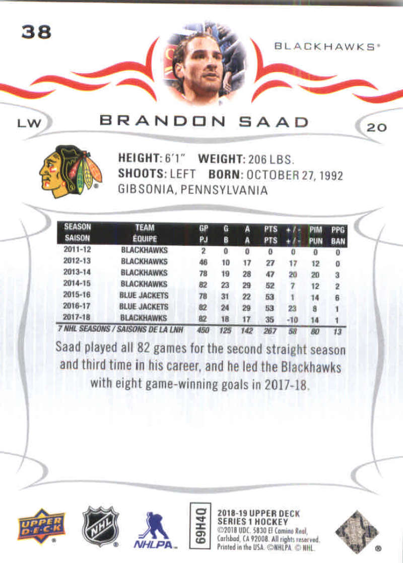 2018-19-Upper-Deck-Hockey-Base-w-Young-Guns-RC-1-250-Pick-Your-Cards-Lot thumbnail 77