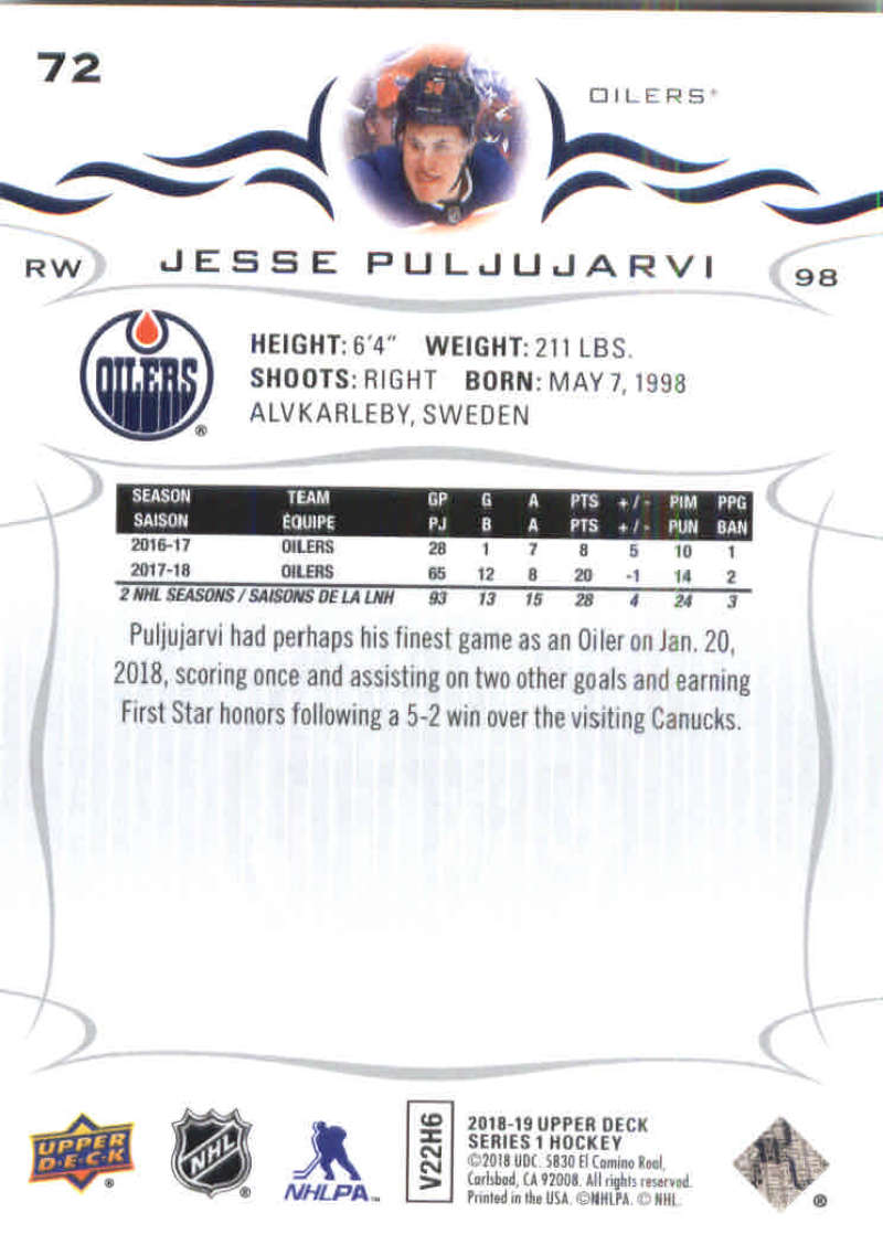 2018-19-Upper-Deck-Hockey-Base-w-Young-Guns-RC-1-250-Pick-Your-Cards-Lot thumbnail 145