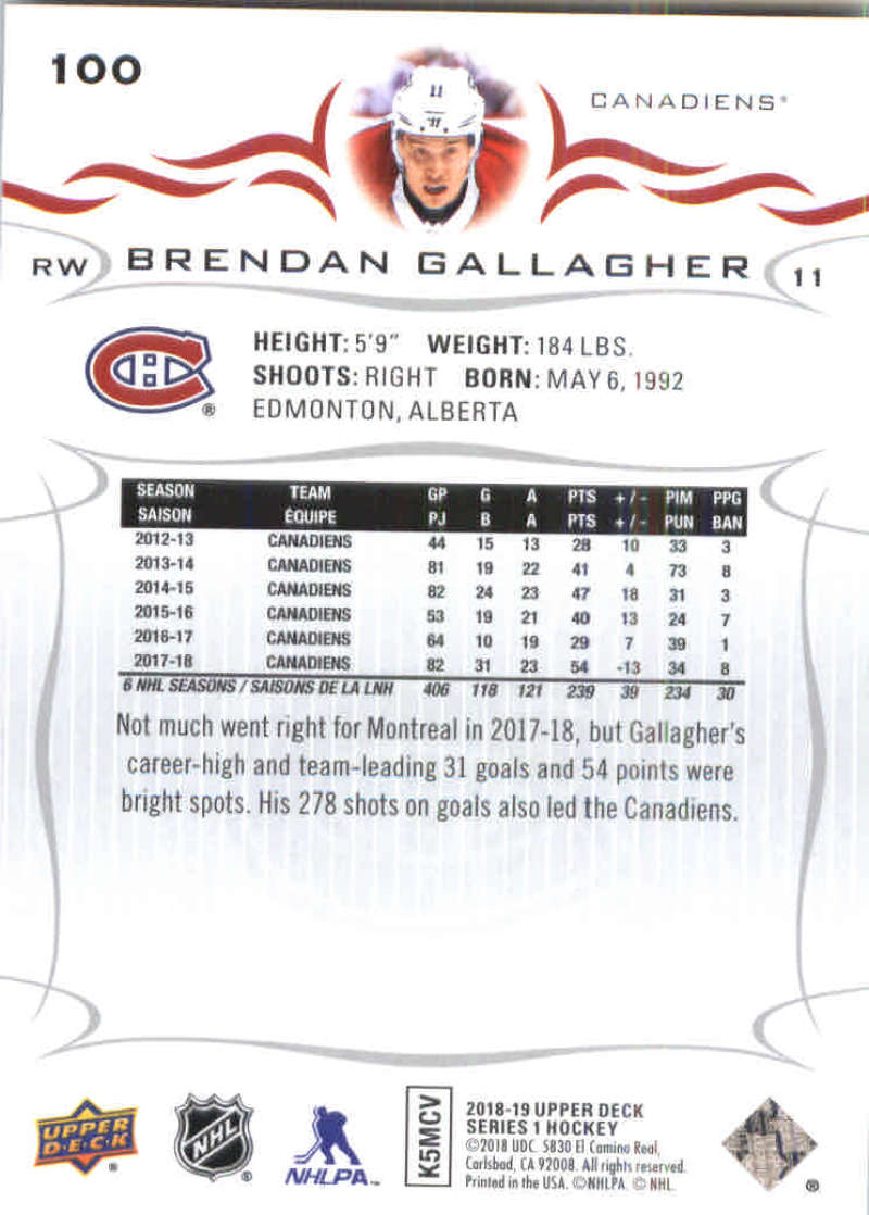 2018-19-Upper-Deck-Hockey-Base-w-Young-Guns-RC-1-250-Pick-Your-Cards-Lot thumbnail 201
