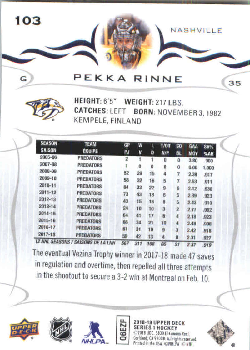 2018-19-Upper-Deck-Hockey-Base-w-Young-Guns-RC-1-250-Pick-Your-Cards-Lot thumbnail 207