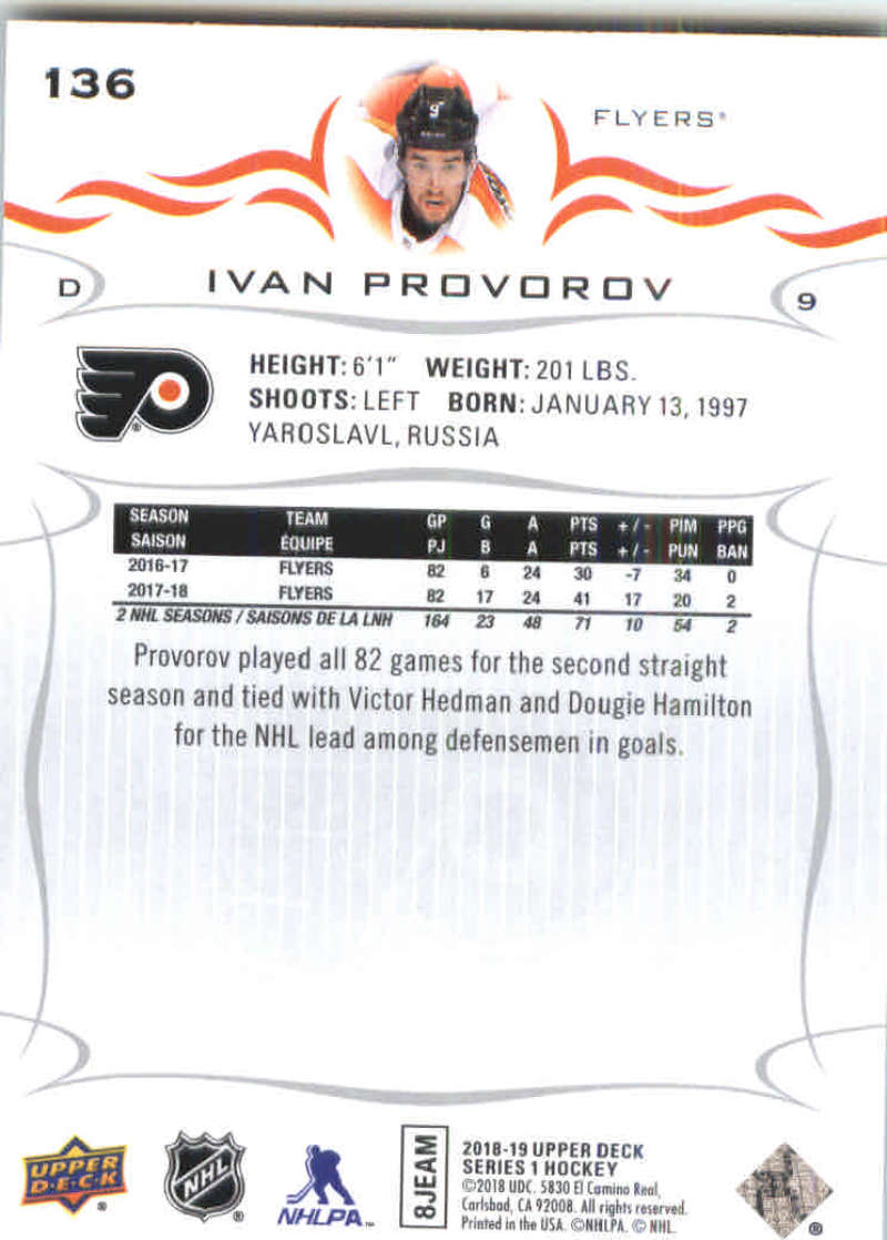 2018-19-Upper-Deck-Hockey-Base-w-Young-Guns-RC-1-250-Pick-Your-Cards-Lot thumbnail 273