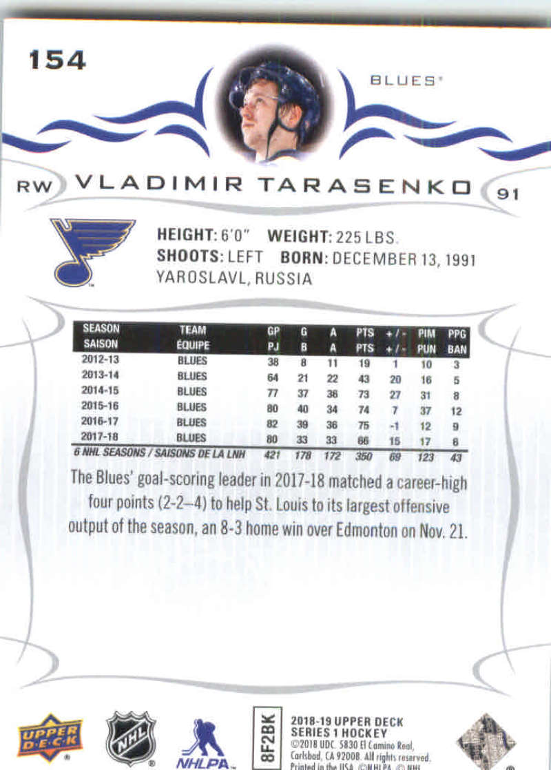 2018-19-Upper-Deck-Hockey-Base-w-Young-Guns-RC-1-250-Pick-Your-Cards-Lot thumbnail 309