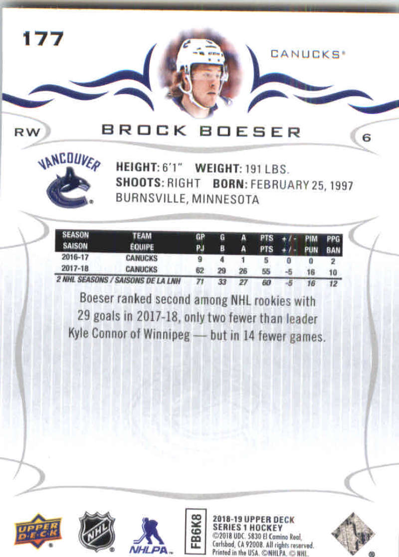 2018-19-Upper-Deck-Hockey-Base-w-Young-Guns-RC-1-250-Pick-Your-Cards-Lot thumbnail 355