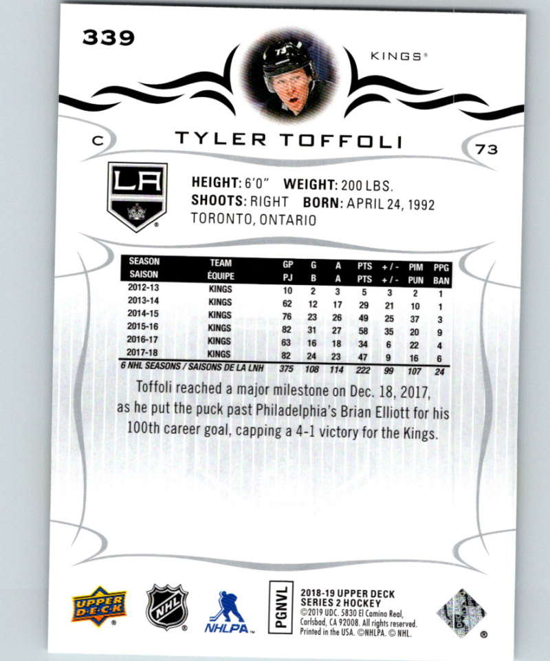 2018-19-Upper-Deck-Series-Two-Hockey-Cards-251-450-Complete-Your-Set-You-Pick miniature 177