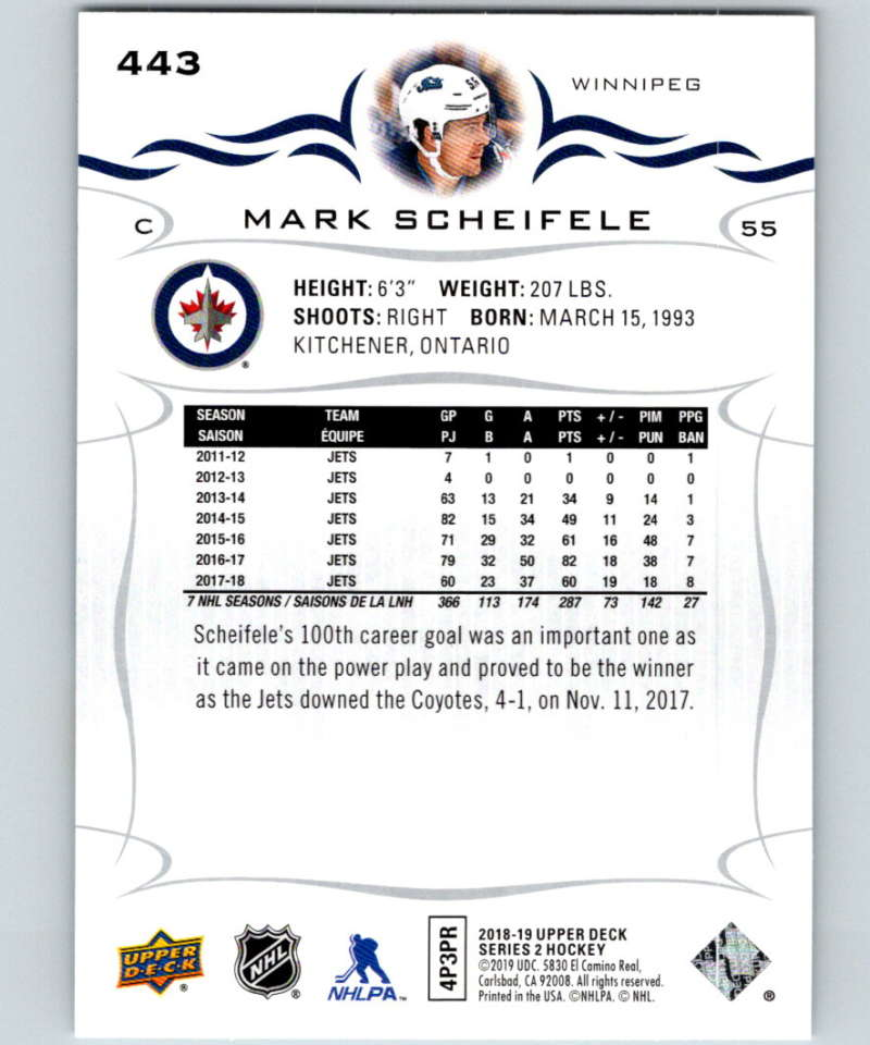 2018-19-Upper-Deck-Series-Two-Hockey-Cards-251-450-Complete-Your-Set-You-Pick miniature 383