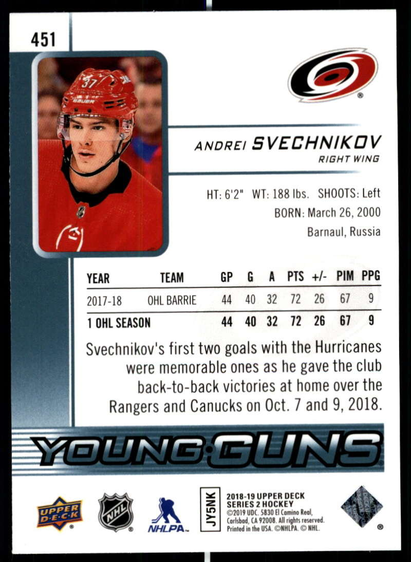 2018-19-Upper-Deck-Series-2-NHL-Hockey-Young-Guns-Base-Singles-Pick-Your-Cards miniature 3