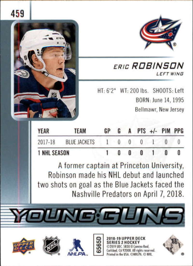 2018-19-Upper-Deck-Series-2-Young-Guns-Rookie-Cards-RC-Hockey-Singles-You-Pick miniature 13
