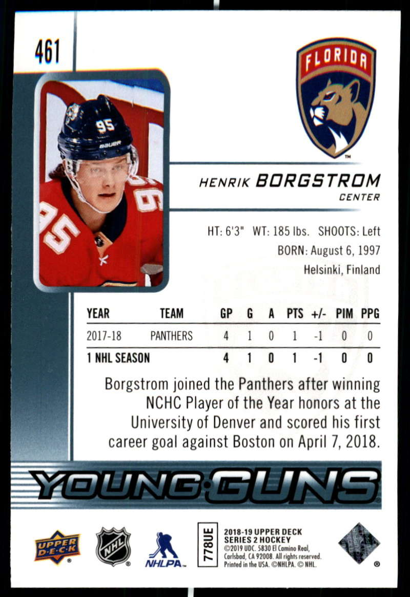 2018-19-Upper-Deck-Series-2-NHL-Hockey-Young-Guns-Base-Singles-Pick-Your-Cards miniature 21