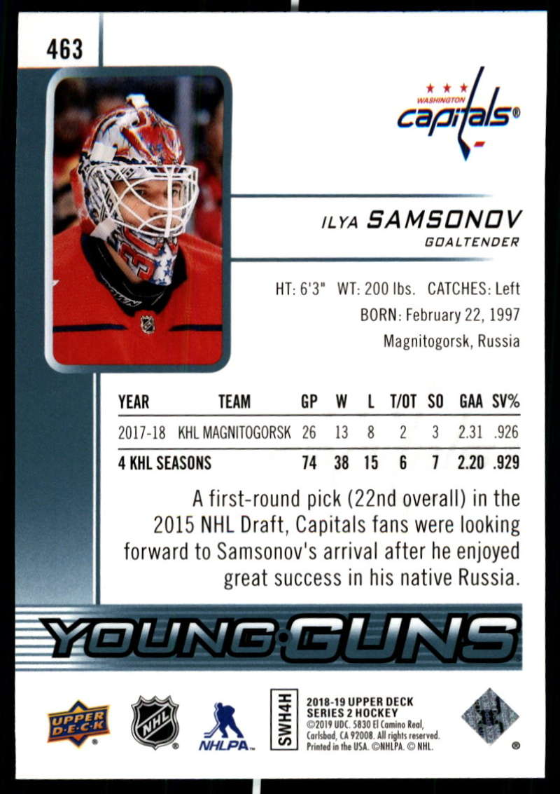 2018-19-Upper-Deck-Series-2-NHL-Hockey-Young-Guns-Base-Singles-Pick-Your-Cards miniature 27