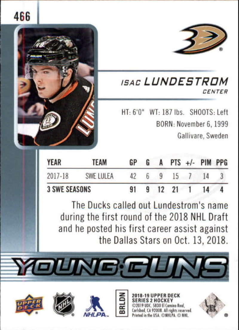 2018-19-Upper-Deck-Series-2-Young-Guns-Rookie-Cards-RC-Hockey-Singles-You-Pick miniature 21