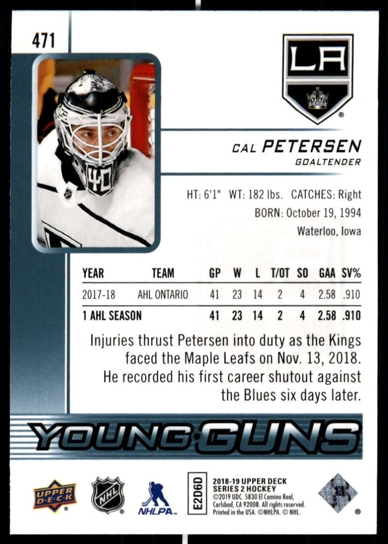2018-19-Upper-Deck-Series-2-Young-Guns-Rookie-Cards-RC-Hockey-Singles-You-Pick miniature 25