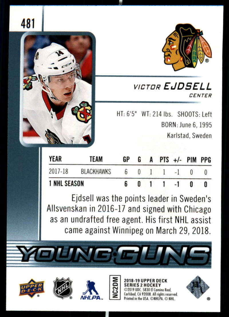 2018-19-Upper-Deck-Series-2-NHL-Hockey-Young-Guns-Base-Singles-Pick-Your-Cards miniature 61