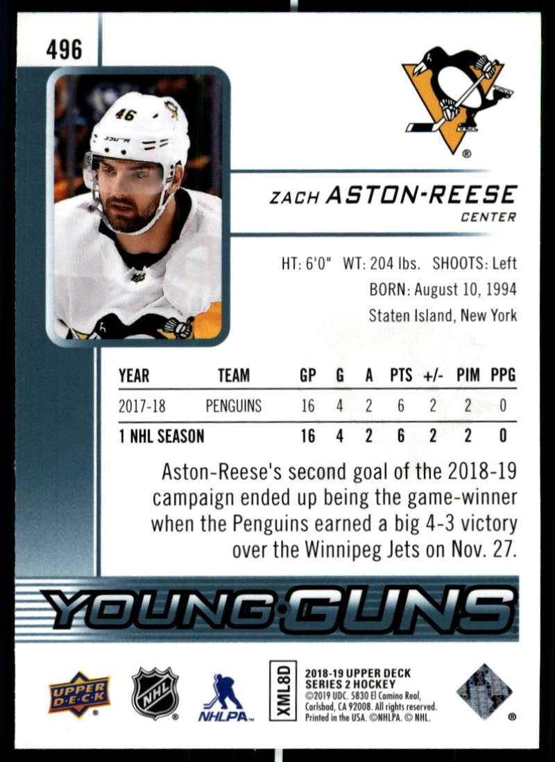 2018-19-Upper-Deck-Series-2-Young-Guns-Rookie-Cards-RC-Hockey-Singles-You-Pick miniature 51