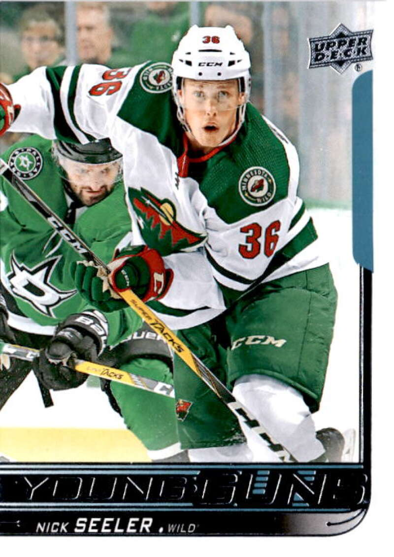 2018-19 Upper Deck Hockey #233 Nick Seeler Minnesota Wild Young Guns YG Rookie Official NHL UD Trading Card