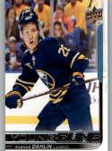 2018-19 Upper Deck Hockey Card #201 Rasmus Dahlin Buffalo Sabres Young Guns YG RC Rookie Official NHL UD Trading Card