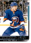 2018-19 Upper Deck Hockey Card #208 Michael Dal Colle New York Islanders Young Guns YG RC Official NHL UD Trading Card