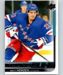 2018-19 Upper Deck Hockey Card #215 Brett Howden New York Rangers Young Guns YG RC Rookie Official NHL UD Trading Card