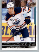 2018-19 Upper Deck Hockey #221 Evan Bouchard Edmonton Oilers Young Guns YG Rookie Official NHL UD Trading Card