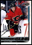 2018-19 Upper Deck NHL Series 2 Young Guns #470 Spencer Foo RC Rookie Card Calgary Flames