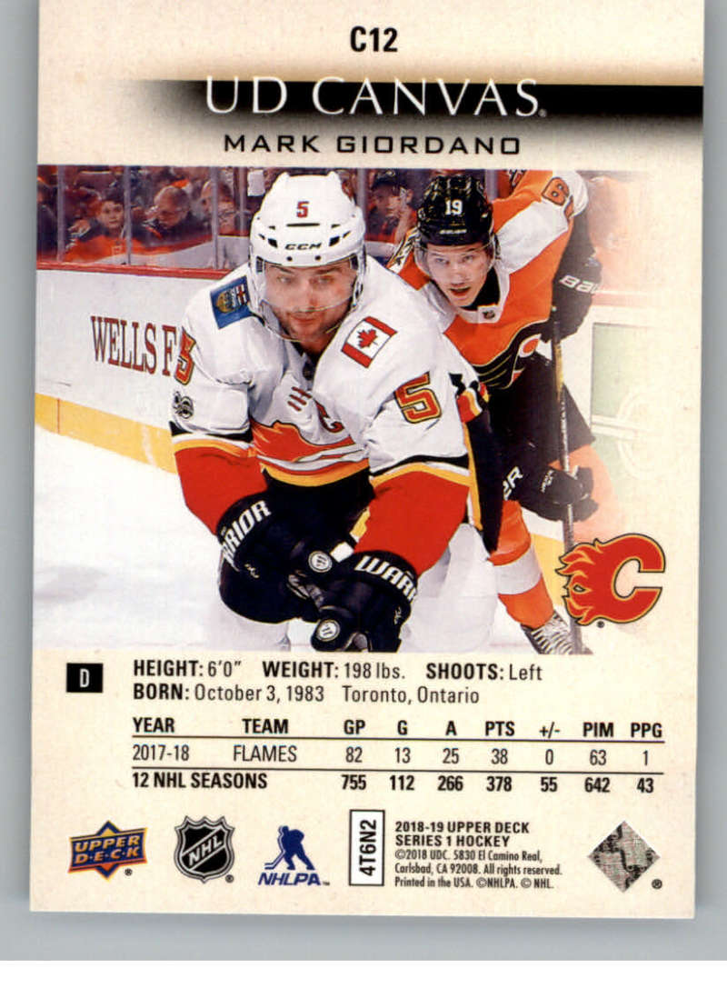 2018-19-Upper-Deck-CANVAS-Hockey-Series-1-amp-2-Vets-Young-Guns-RC-Pick-Yer-Cards miniature 15