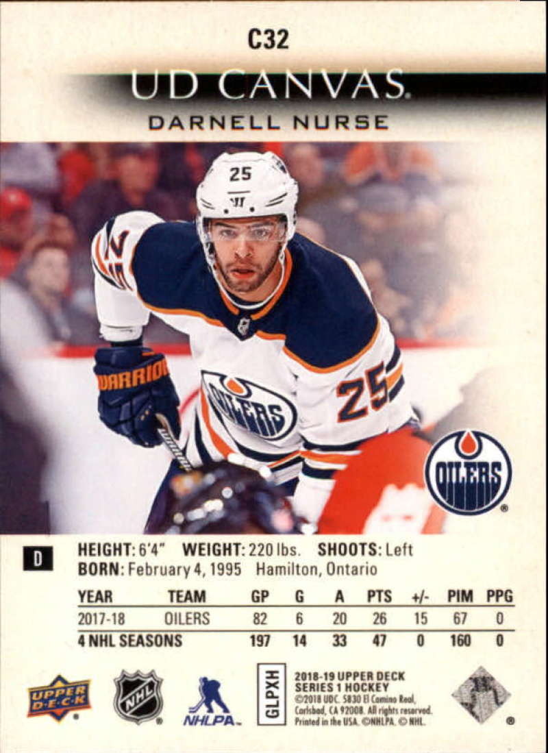 2018-19-Upper-Deck-Canvas-18-19-UD-Series-One-Hockey-Cards-Pick-From-List miniature 33