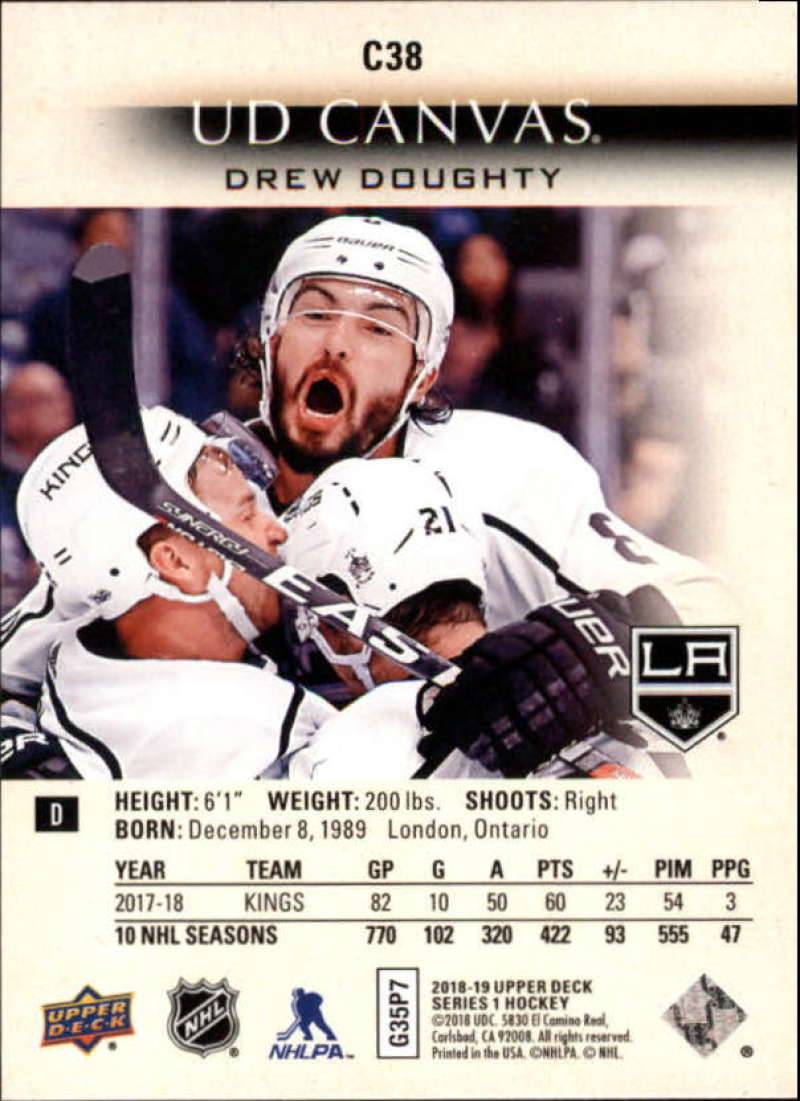 2018-19-Upper-Deck-Canvas-18-19-UD-Series-One-Hockey-Cards-Pick-From-List miniature 43