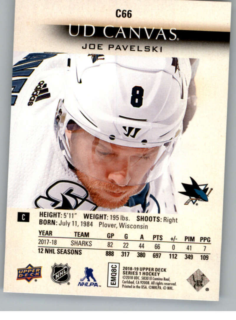 2018-19-Upper-Deck-CANVAS-Hockey-Series-1-amp-2-Vets-Young-Guns-RC-Pick-Yer-Cards miniature 97