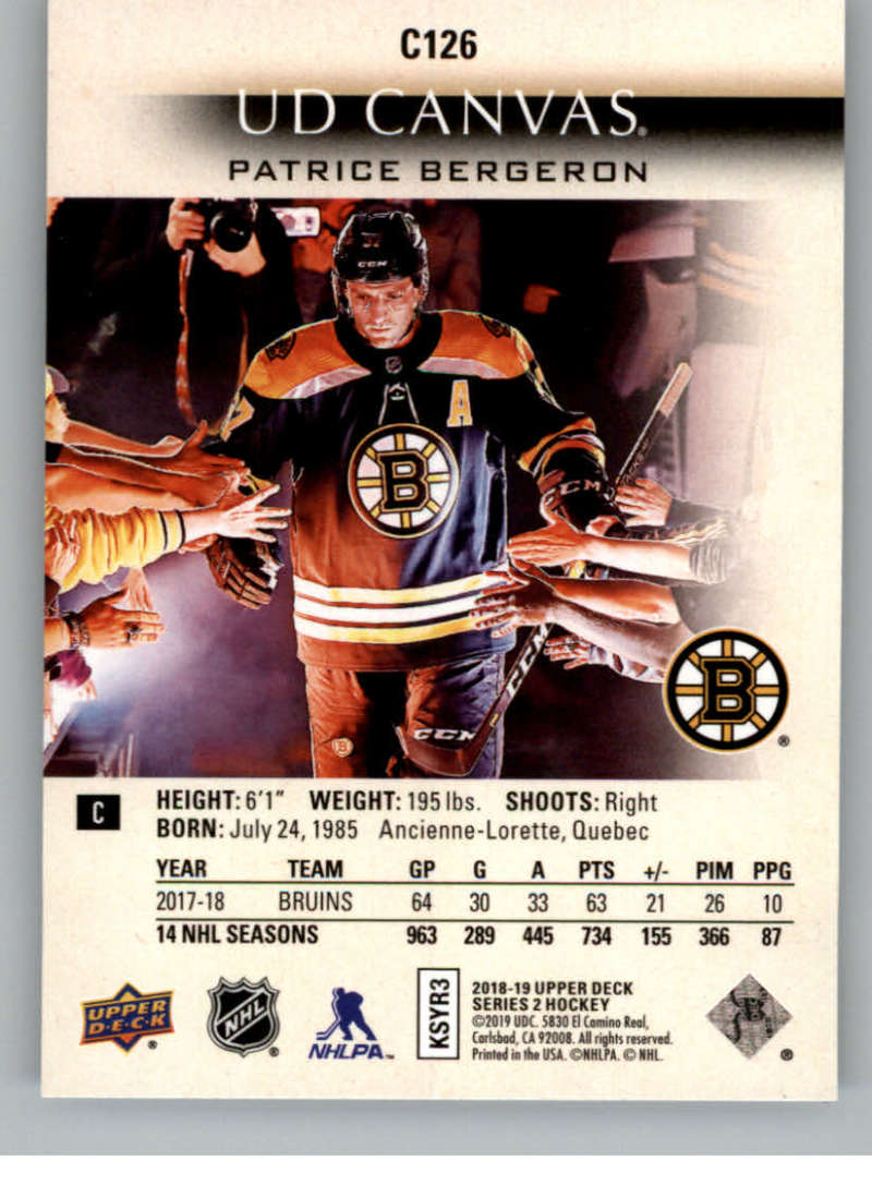 2018-19-Upper-Deck-CANVAS-Hockey-Series-1-amp-2-Vets-Young-Guns-RC-Pick-Yer-Cards miniature 161