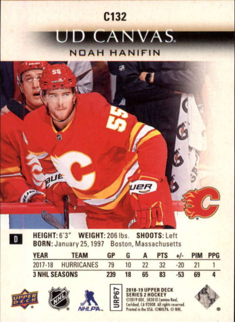 2018-19-Upper-Deck-Series-2-Canvas-Young-Guns-Rookie-RC-Hockey-Cards-You-Pick miniature 3