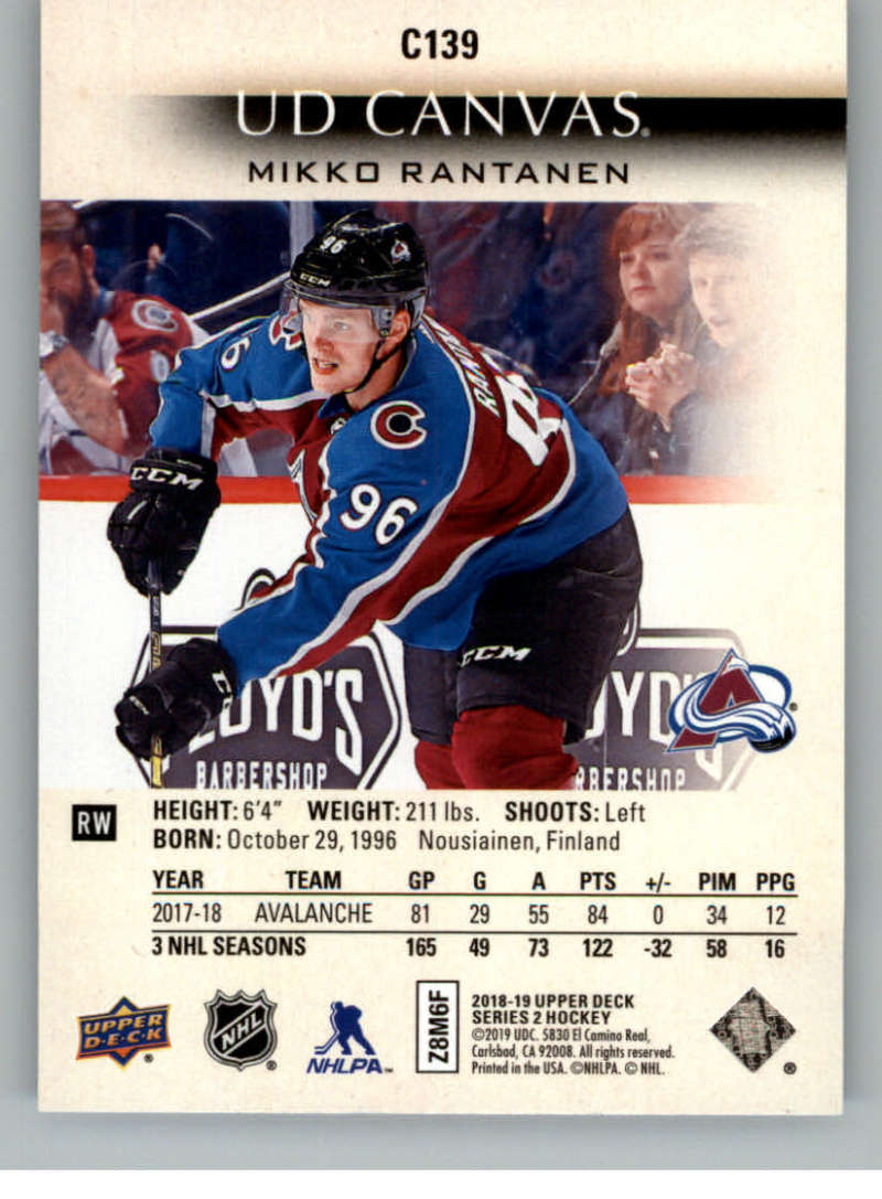 2018-19-Upper-Deck-Series-2-Canvas-Young-Guns-Rookie-RC-Hockey-Cards-You-Pick miniature 7