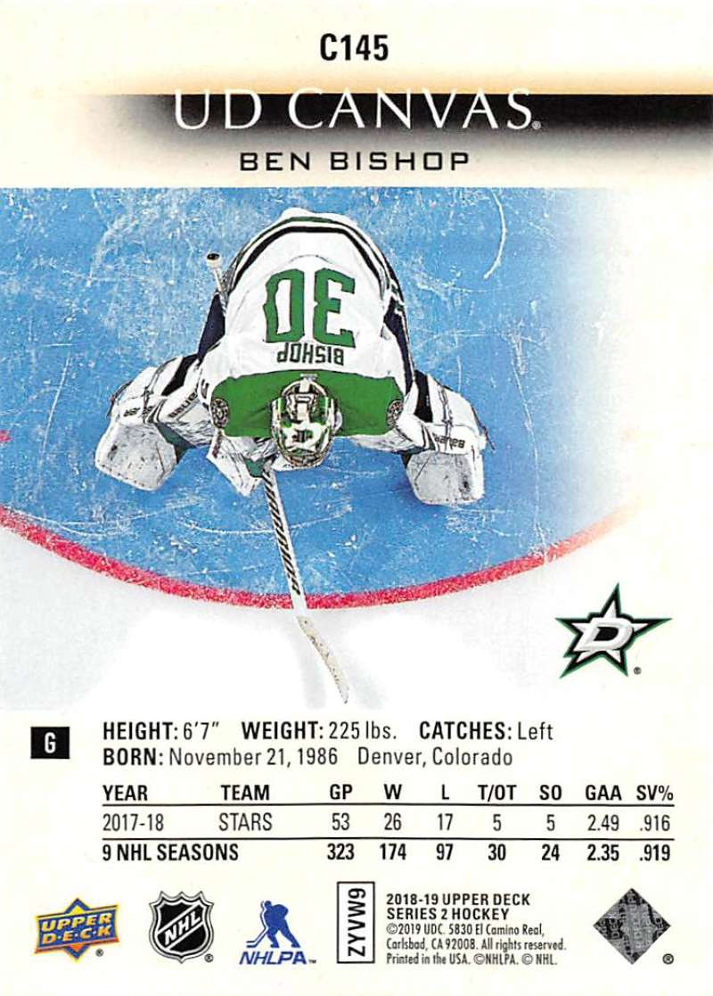2018-19-Upper-Deck-CANVAS-Hockey-Series-1-amp-2-Vets-Young-Guns-RC-Pick-Yer-Cards miniature 191