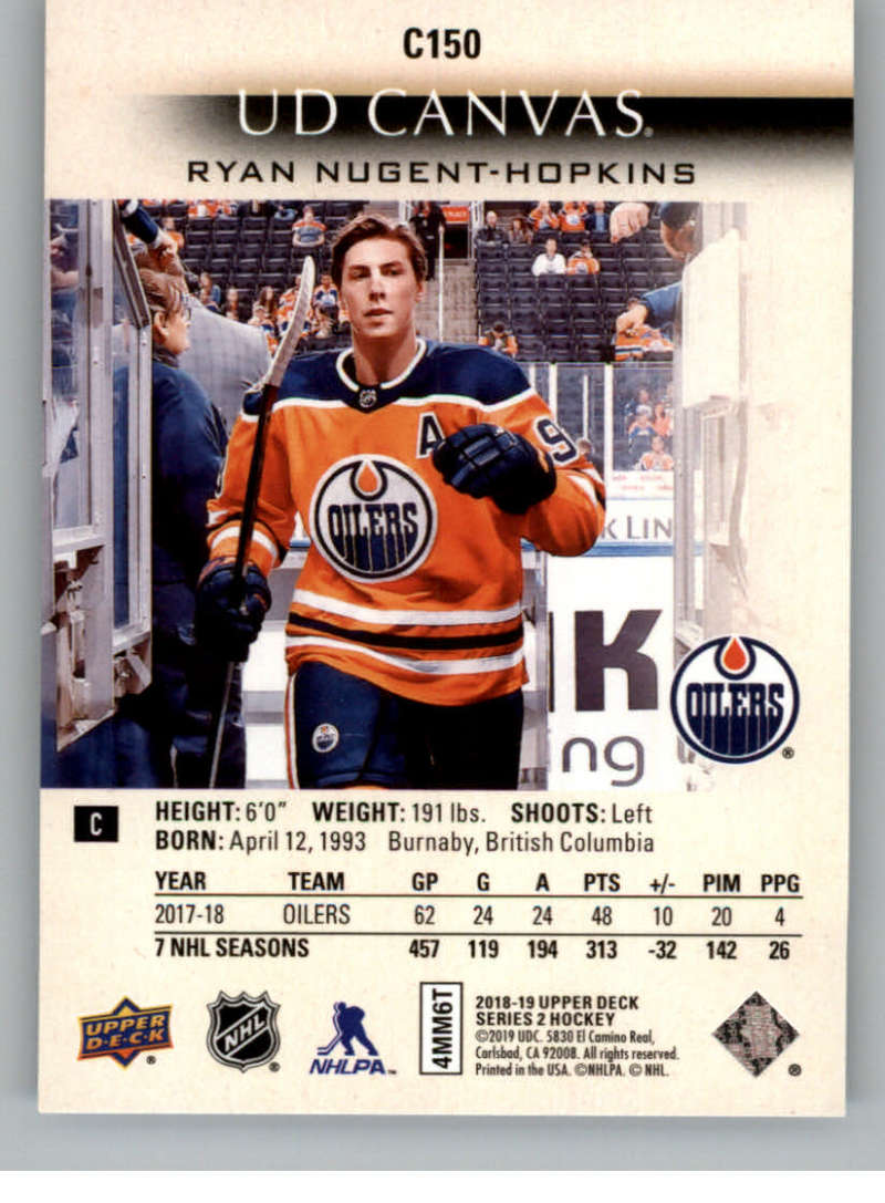 2018-19-Upper-Deck-CANVAS-Hockey-Series-1-amp-2-Vets-Young-Guns-RC-Pick-Yer-Cards miniature 199